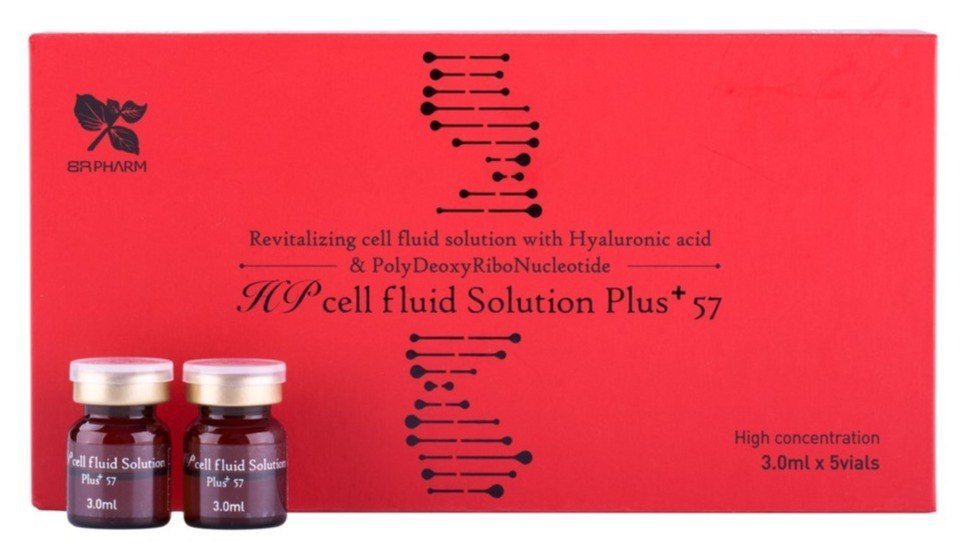 HP cell fluid Solution Plus +57/ skin nutrition and hydration